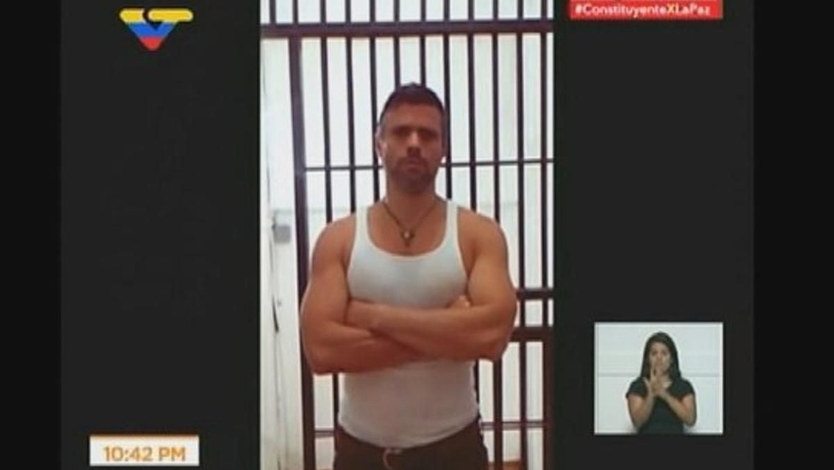 Lilian Tintori difunde el vídeo de la detención de su esposo Leopoldo López