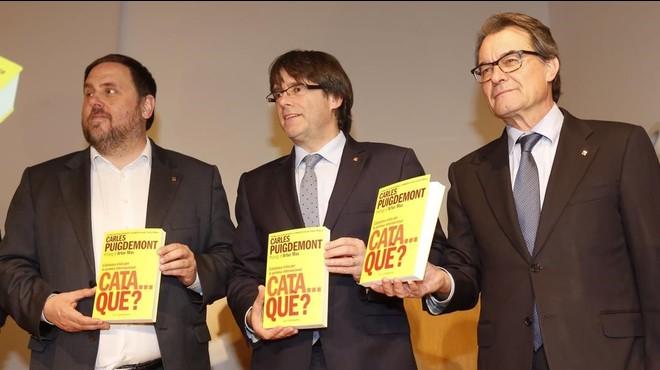 Esquerra, telonera de Puigdemont