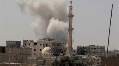 Més de 170 civils moren a Síria en una setmana per les bombes de la coalició internacional