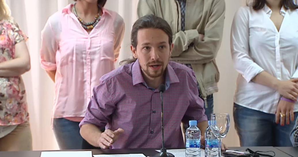 El líder de Podemos, Pablo Iglesias, ha anunciado que en otoño se celebrará la Gran Asamblea Ciudadana Sí se puede.