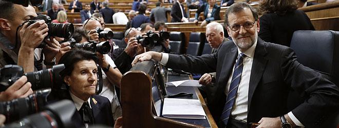 Rajoy pide al PSOE que garantice estabilidad al nuevo Gobierno