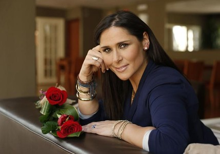 La cantante Rosa L�pez.