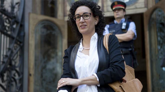 """Rovira declara ante la jueza sentirse """"coaccionada"""" por el TC"""
