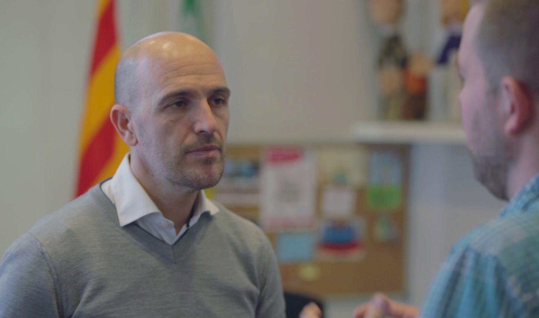 """Sergi Mingote: """"Ser deportista de elite me ayuda cada día en mi trabajo de alcalde"""""""