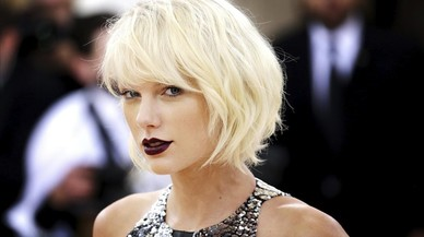 Taylor Swift se queda en blanco