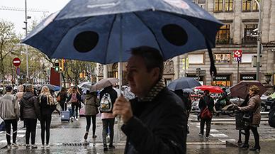 Un temporal de lluvia intensa, viento y nieve llega hoy a Catalunya