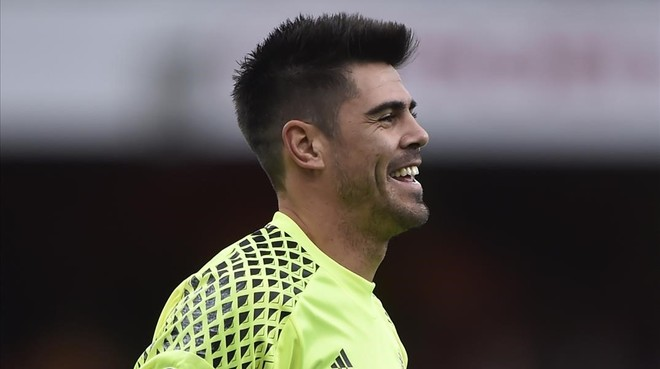 Víctor Valdés, portero del Middlesbrough