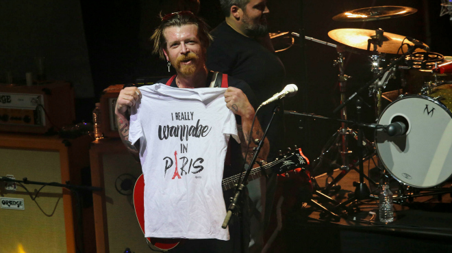 Així van tocar els Eagles of Death Metal a l'Olympia de París