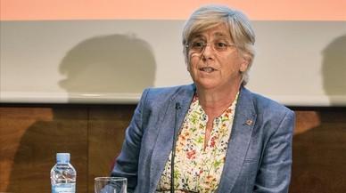 La consellera Ponsatí assumeix la responsabilitat de totes les escoles