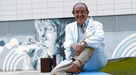 EL PEDIATRA. Santiago García-Tornelen el Hospital de Sant Joan de Déu, de Esplugues, el 8 de marzo.