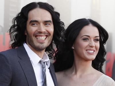 Russell Brand y Katy Perry, el pasado abril.