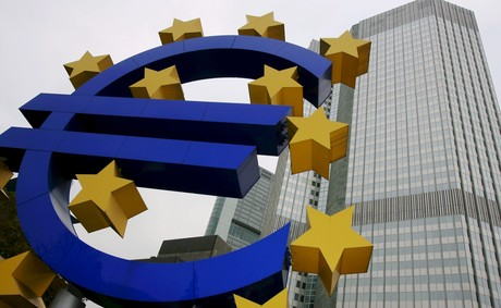 Sede del Banco Central Europeo, en Fr�ncfort.