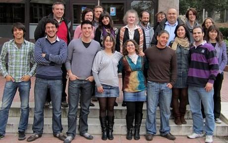 Equipo de investigadores que coordina la catedrática Marta Cascante.