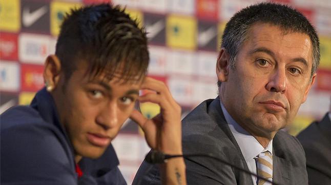 Image result for Neymar and bartomeu