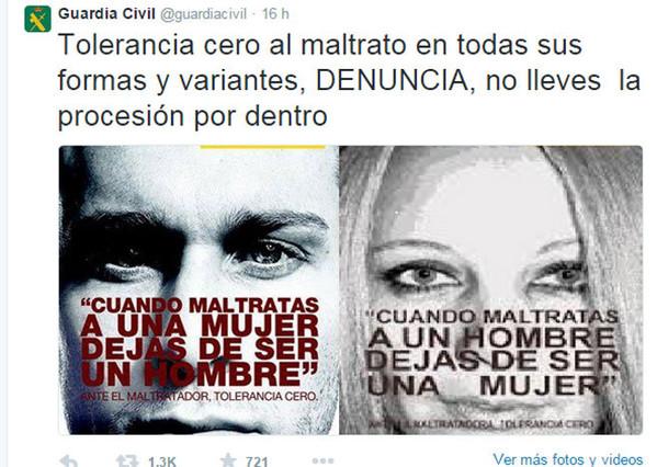La Guardia Civil saca los colores a la injusticia que reina en España: el mal se persigue… según quién lo haga