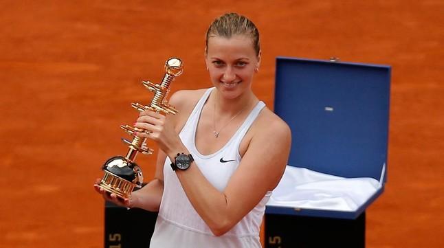 Petra Kvitova se lleva el título de Madrid