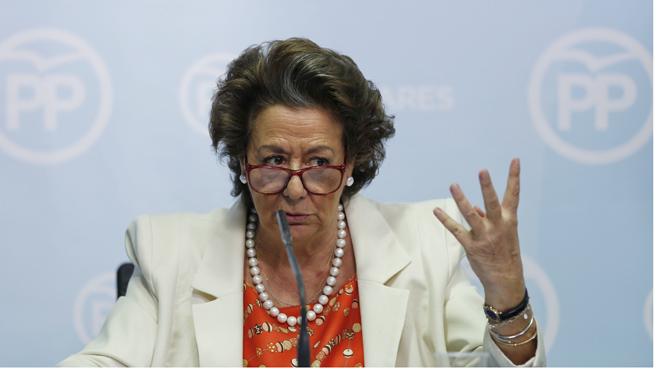 Rita Barberá niega que haya participado en ningún blanqueo de dinero