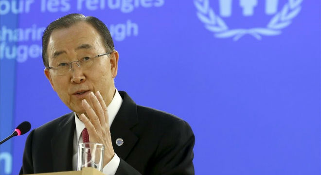 Ban Ki Moon, secretario general de la ONU.