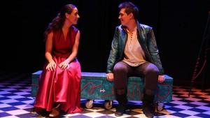 Anna Lagares y Edgar Martínez, en Per si no ens tornem a veure.