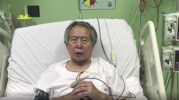 Fujimori pide perdón.