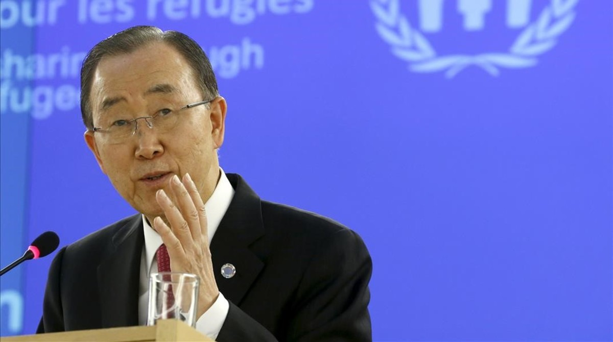 Ban Ki Moon al mundo mayor solidaridad con los refugiados sirios