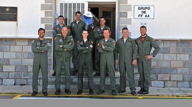 La patrulla Águila incorpora a sus filas a la primera mujer