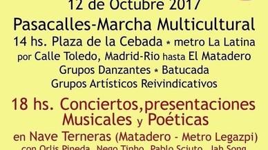 El Ayuntamiento de Madrid cede una nave del Matadero para un acto contra el día de la Hispanidad