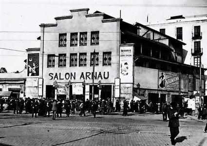 El teatro que ideó Gaudí