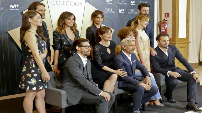 'Velvet colección' desfila sense Paula Echevarría, però brilla amb Imanol