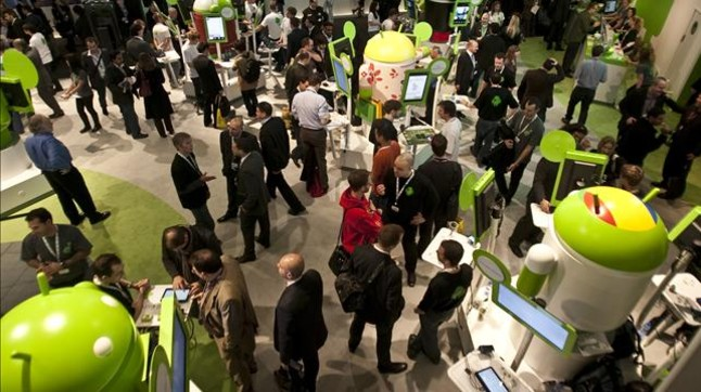 Apple, Google y RIM, grandes ausentes del Mobile World Congress