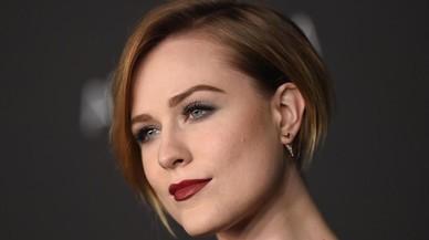 La actriz Evan Rachel.