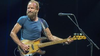 Sting torna avui a Barcelona per presentar el seu últim disc, '57th & 9th'