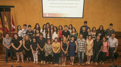 La alumna más brillante de Rubí estudiará Filología española en la Universitat Autònoma de Barcelona