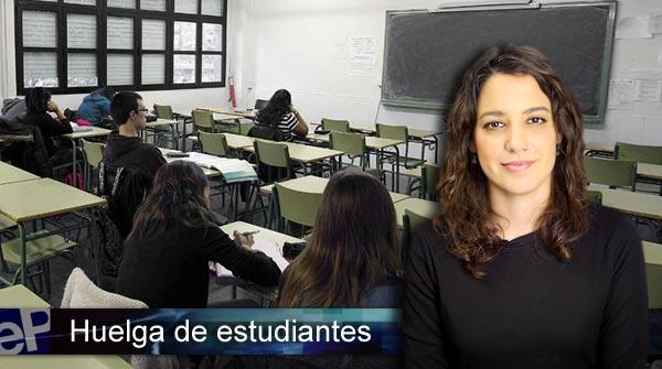La huelga de estudiantes, en El Informativo