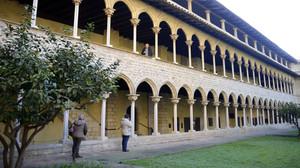 Interior del monasterio de Pedralbes