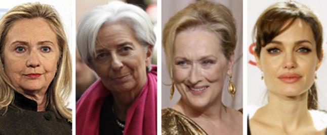 Hillary Clinton, Meryl Streep y Angelina Jolie, en la Cumbre de Mujeres en el Mundo