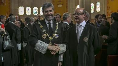 El president del TSJC renuncia a la medalla que li va concedir Fernández Díaz