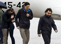 Los tres periodistas españoles estuvieron la mayor parte de los 10 meses de secuestro en una habitación