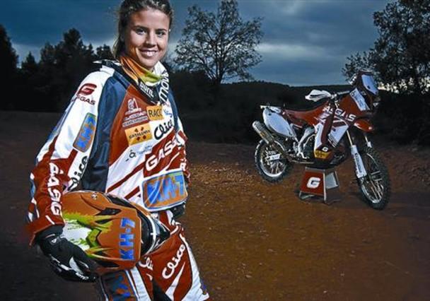 Laia Sanz : �Mis recuerdos de ni�a en Corbera son en bici o moto�