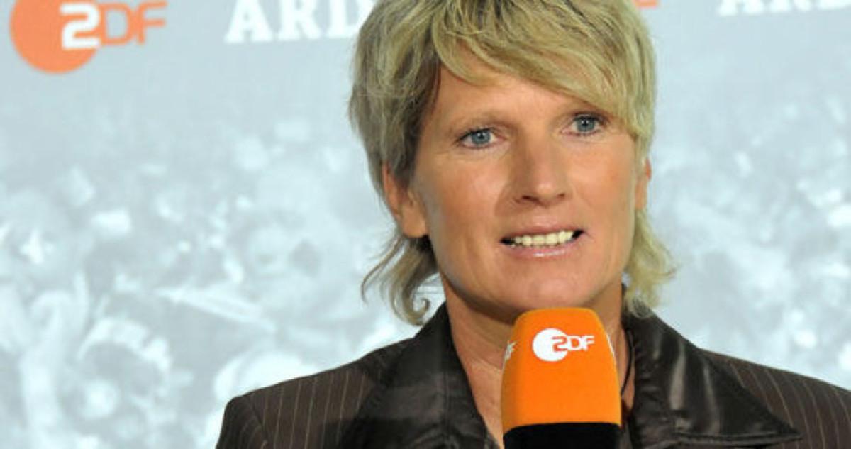 La periodista televisiva alemana Claudia Neumann.