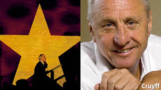 Portada del cuadernillo con las mejores fotos de Johan Cruyff que sale este domingo.