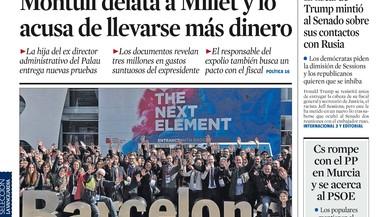 Marhuenda adverteix a Rivera que si hi ha pinça anti-PP Rajoy avançarà eleccions
