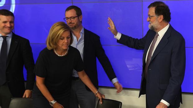 Rajoy es rebel·la contra la posada en marxa exprés del referèndum