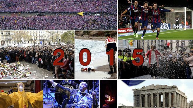 El més vist del 2015 en la web d'EL PERIÓDICO