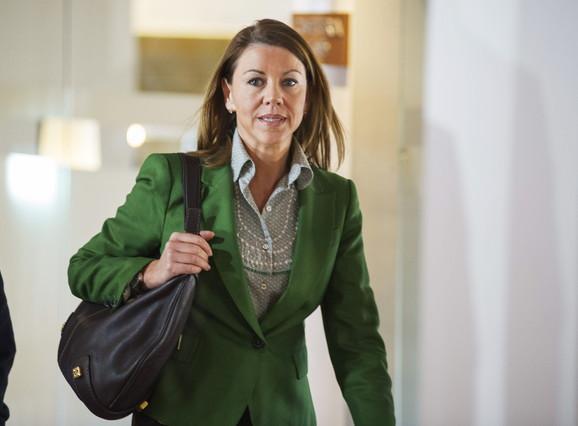 Cospedal no cometi� delito cuando acus� al PSOE de espiar al PP