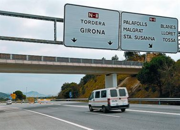 El Maresme pacta descuentos en la autopista para este verano