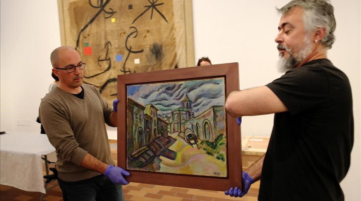 La Fundació Miró vuelve a sus orígenes