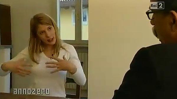 La prostituta Nadia Macri explica las fiestas con chicas de Berlusconi