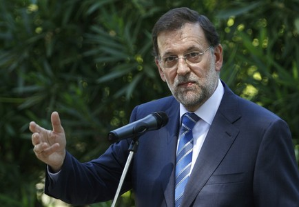 Rajoy, el pasado da 14, en Mallorca.