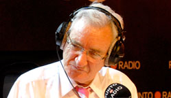 El radiofonista Luis del Olmo.